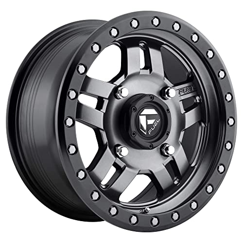 Rim 6x135 /& 6x5.5 with a 1mm Offset and a 106.4 Hub Bore Partnumber D56020909850 Fuel Vapor 20 Black Wheel