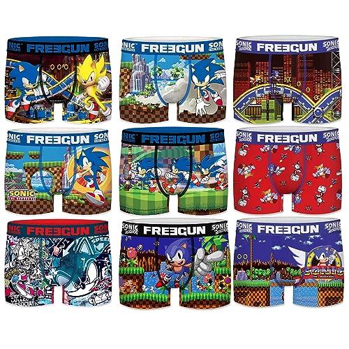 Sublimation Printing FREEGUN Set Boxers Briefs Dragon Ball Z Man OR Boy