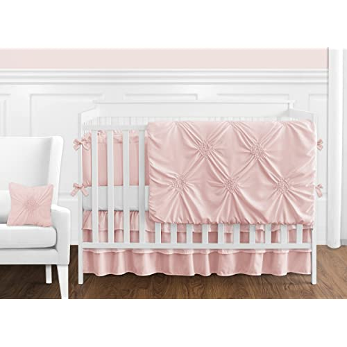 Solid Color Blush Pink Shabby Chic, Shabby Chic Baby Furniture
