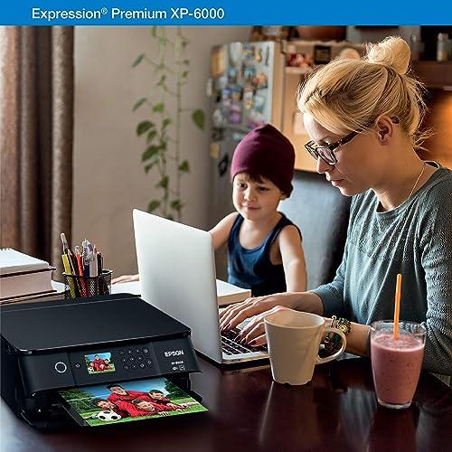 Buy Epson Expression Premium XP-6000 Wireless Color Photo Printer