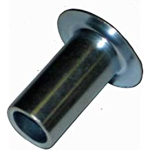 Pack of 1//2 Pound - Approximately 133 Pieces 5//32 Diameter X 3//8 Length Solid Steel Round Head Rivet Plain Finish