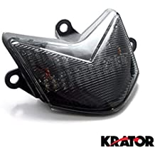 LED TailLights Brake Tail Lights with Integrated Indicators 2003-2007 Ducati 749 999 MULTISTRADA Smoked Krator ITL-D74 Turn Signals