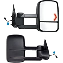 Fit System 62093G Chevrolet//GMC Passenger Side Replacement Mirror with Turn Signal