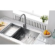 Starstar Undermount 304 Stainless Steel Single Bowl For Kitchen Sink With Set