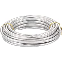 Aluminum Armature Wire 3//8 Inch AWG 10 Feet Coil