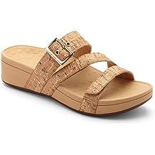8bcecc975655 Vionic Women  39 s Pacific Rio Platform Sandal - Ladies Adjustable Slide  Sandal with