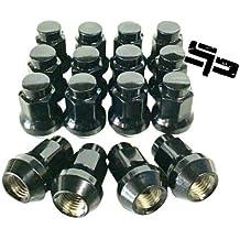 Lug Nuts Flat 3//8 x 24 14mm Hex Set of 16 Fits Polaris RZR Ranger 800 900 XP UTV