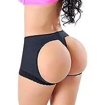 97112366b84a FUT Women's Butt Lifter Lace Boy Shorts Body Shaper Enhancer Panties
