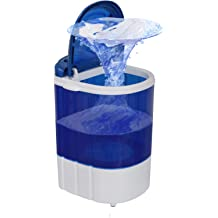 Camping Apartment Rv SYTH Portable Washing Machine,Foldable Mini Compact Electric Laundry Cleaning Machine for Dormitory