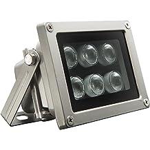 96 LED Night Vision IR Infrared Illuminator Light Lamp for CCTV Camera W//Charger