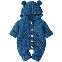 Vinjeely Toddler Boys Girls Cute Rabbit Ears Earmuffs Ball Hats Infant Baby Beanie Cap