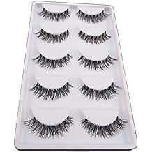 8e1b55268ee 5Pair/Lot Crisscross False Eyelashes Fake Lashes Voluminous Natural False  Eyelash Extension Cilios Posticos Make
