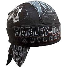 70bfc955 Harley-Davidson Men's Engulfed Flaming Skull Head Wrap, Moisture Wicking