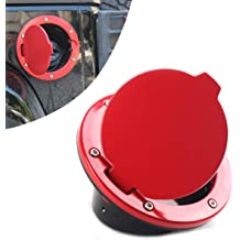 For Suburban//Tahoe Fuel Gas Tank Door with Lock Chrome GMT400