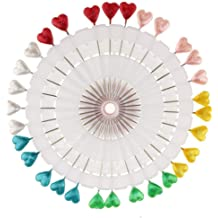 Leaf Style MOPOLIS 30pcs Faux Hijab Head Scarf Pins with Wheel for Dressmaking Tailoring Sewing