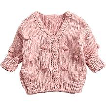VEKDONE Newborn Cute Winter Kids Baby Hats Knitted Wool Hemming Hat
