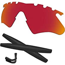 7fa9d7d8f967 Predrox M Frame Heater Lenses & Rubber Kits Replacement for Oakley  Polarized