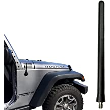 - Spring Steel Internal CORE 17 All-Terrain Flexible Rubber Antenna is Compatible with Dodge Ram Truck 1500 AntennaMastsRus 2009-2019