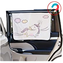 51 x 27.56 Funny Mermaid Bigfoot and Unicorn Windshield Screen Sunshade Cools Vehicle Interior WHAT ON EARTH Mythical Creatures Car Sun Shade