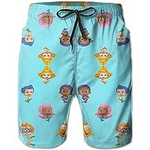 Mens Swimwear,Fxbar Mens Breathable Swim Trunks Pants Solid Color Trousers Short Bathing Suit