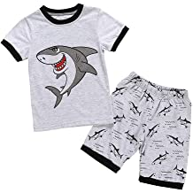 Shorts Outfits FORESTIME Summer Little Baby Boys Sleeveless Star Striped Camouflage Hooded Tops