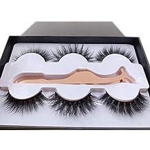 ac2c261c12a 3 Styles Fluffy Mink Eyelashes 100% Siberian 3D Mink Fake Lashes  Cruelty-Free False