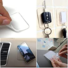 Sticky Gel Pad Sticky Phone Holder for Car Cell Phone Stand Sticker 4pack Nano Rubber Pads Car Mount Anti-Slip Stick to Anywhere No Trace Washable Sailor Sticker Mobile Phone Dash-Mounted Holder