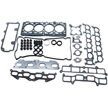 Oil Conversion Gasket Set for 01-06 Jeep Wrangler X Sport Sahara Rubicon Cherokee Grand Cherokee 4.0L I6 VIN Code S V by Detoti Auto