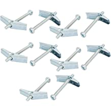 Greenlee 84429 .25-Inch by 4-Inch Mushroom Head Toggle Bolt 50-Pack