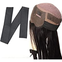 Elastic Band, 9pcs Vowigs Black Elastic Band For Wigs//Lace Closures//Lace Frontal Sewing Band 2.5 cm width 9pcs