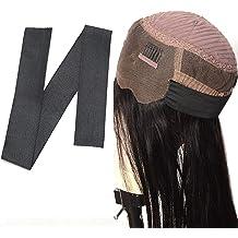 Spandex Ribbon Sewing Lace Trim waist band garment accessory Brown FQTANJU 25mm x 5 yard Ribbon Elastic Foldover Elastics Stretch Hair Ties Headbands