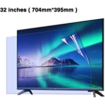 CUUYQ 32 Inches TV Screen Protector LED OLED /& QLED 4K HDTV,A Ultra-Clear Protector Film Anti-Blue Light Non-Glare Anti-Scratch Eye Protection for LCD