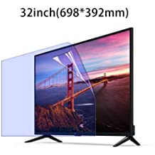 OLED /& QLED 4K HDTV,A for LCD LED AOHMG Anti-Blue Light TV Screen Protector for 40 Inches TV Anti Glare Eye Protection Ultra-Clear Anti Scratch Screen Filter