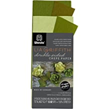 10.7-Square Feet Lia Griffith Metallic Crepe Paper Roll LG11004 Assorted Colors