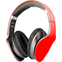 ff61241eeaa iHip Side Swipe Touch Control Wireless Bluetooth Headphones Over Ear -  Foldable, Soft Memory-Protein Earmuffs, w/Built-in Mic and Wired Mode .