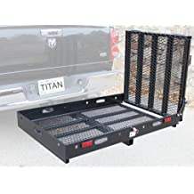 Titan 9 4-Beam Truck Loading Ramp for Motorcycles and Recreational Vehicles