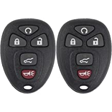 Keyless2Go New Silicone Cover Protective Cases for Remote Head Keys with FCC GQ4-29T HYQ12BBY HYQ12BDC 2 Pack Blue