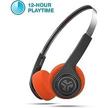 de6a5830776c07 JLab Audio Rewind Wireless Retro Headphones | Bluetooth 4.2 | 12 Hours  Playtime | Custom EQ3 Sound | Music Controls | Noise Isolation | with .