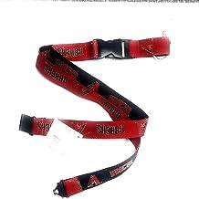 Gonzaga Bulldogs PSG 2-Tone Premium Lanyard 2-Sided Keychain University of