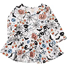 Lurryly❤Halloween Baby Boys Pumpkin Tops Striped Pants Toddler Outfits 3Pcs Clothes 0-2T
