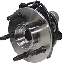 BOTH Front Wheel Hub and Bearing Assembly 5 Lug Models w//ABS fits Driver and Passenger Side Detroit Axle 2