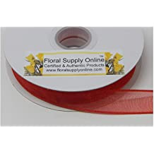 Floral Supply Online Light Green 1//2 Inch Wide Premium Floral Tape with Proprietary Wax Coating High-Grade and self-Sealing stem wrap Specifically Designed for Flowers.