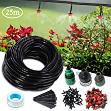 Herbs Gardens HANSHA 200 Pcs Irrigation Drip Support Stakes 1//4 Inch Tubing Hose Holder for Flower beds Vegetable Gardens