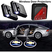 Upgraded Car Door Welcome Logo Projector Lights Compatible with BMW All Car Models Universal Wireless Car Door Led Projector Lights 2Pcs Car Door Light Projector Compatible with BMW