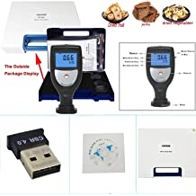 Chuiouy Grain Moisture Meter Coffee Been Rice Corn Rice Wheat Smart Humidity Meter 1 Pc X Meter + Correction Weight + Blanking Bucket + Power Adapter + Cleaning Brush +User Manual
