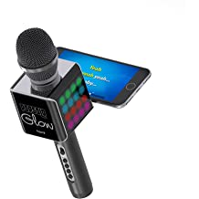 Bl... NEW Wireless Karaoke Microphone KTV Player Bluetooth For iPhone//Samsung