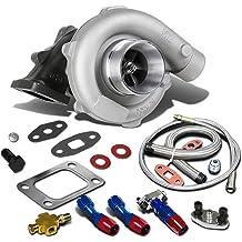 Kyt-my T3 bis T4 Turbo Adapter 15 Grad Manifold Automovil Automobile Flansch Turbolader Zubeh/ör accesorios Auspuff