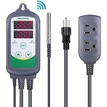 Digital Pid Temperature Controller Inkbird ITC-106VH 110v 240v Fahrenheit show