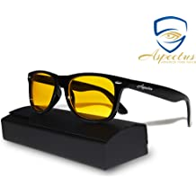 0faa603f9b10 Aspectus Blue Light Blocking Glasses | Premium Gamer & Computer Eyewear |  Anti-Blue Light Lenses for Deep Sleep & Relaxation | Eye .