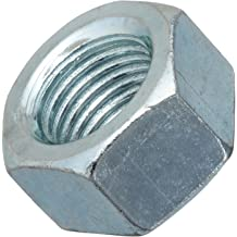 9//16 Width Across Flats ASME B18.2.2 3//8-16 Thread Size 9//16 Width Across Flats 21//64 Thick Pack of 10 21//64 Thick Plain Finish 3//8-16 Thread Size Small Parts Pack of 10 Left Hand Thread 18-8 Stainless Steel Hex Nut